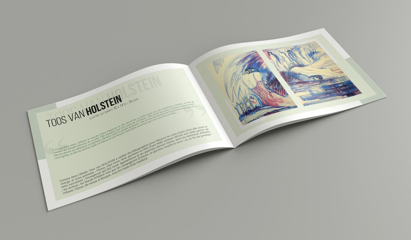 Catalogue Liliade et l'Odyssée - Exemple partie L'Odyssée