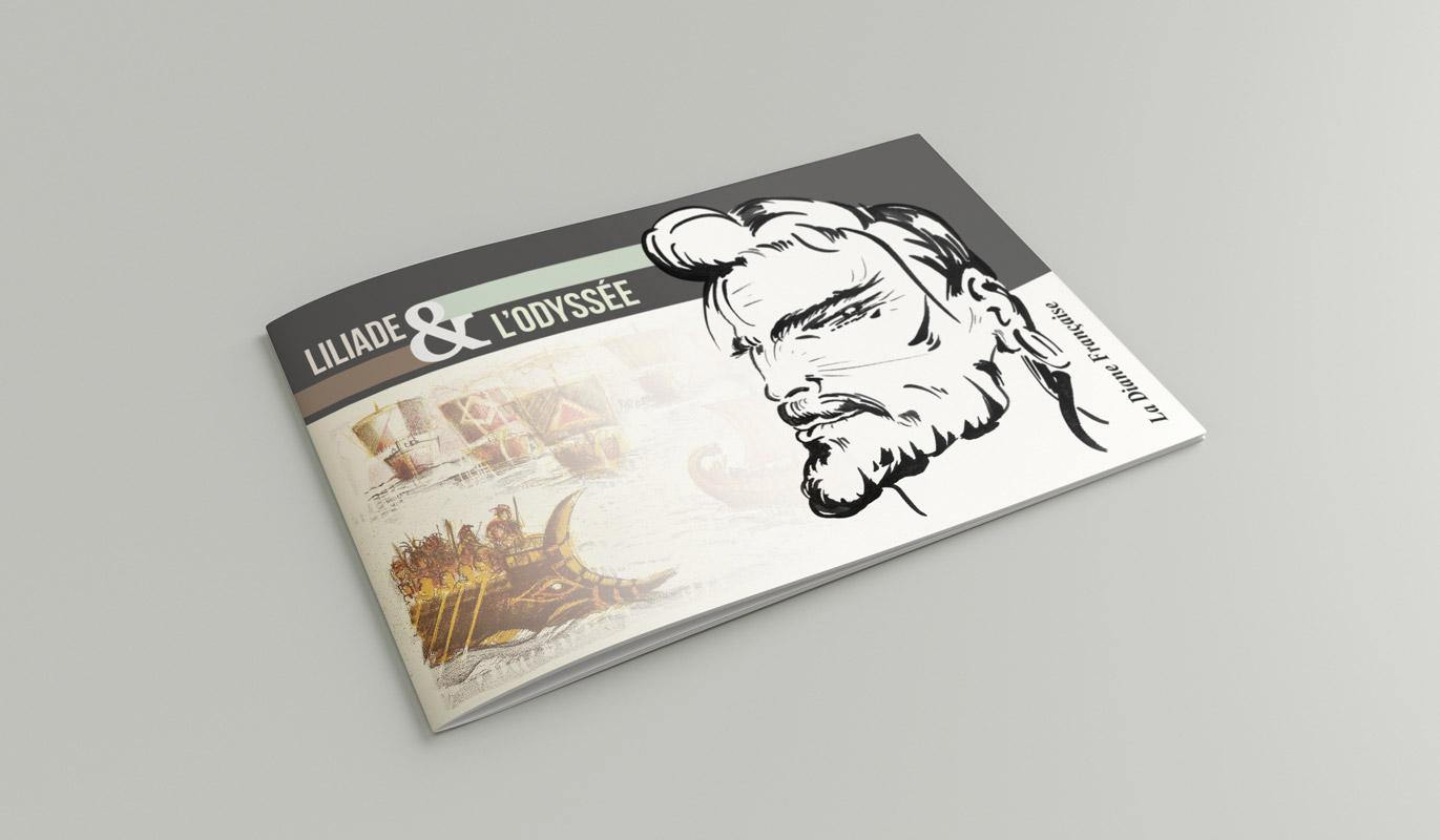 Catalogue Liliade et l'Odyssée - Couverture
