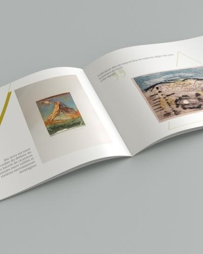 Brochure-Geo-Grafica - Mise en page intérieur