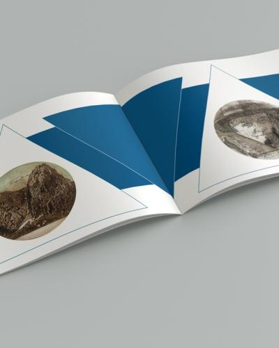 Brochure-Geo-Grafica - Mise en page intérieur - Italien